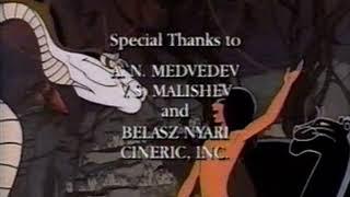 YTV Mowgli Credits 1997