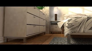 Bedroom Render FILM | CINEMA 4D