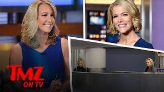 Megyn Kelly and Lara Spencer Have An Awkward Run-In | TMZ TV