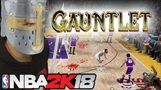 the NBA 2K18 GAUNTLET