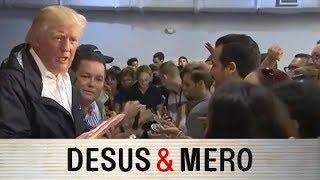 Trump Meets Hurricane Victims in Puerto Rico