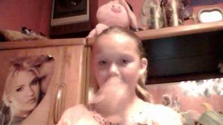 Brittany singing Determinate Lemondade Mouth!!!!