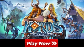 Nords heroes of the north Browser Game Trailer, Game Link - PLAY FOR FREE (no download online game)