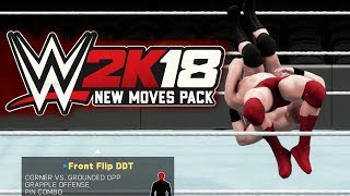Every New Move in the WWE 2K18 New Moves DLC Pack