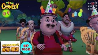 Don Ka Birthday - Motu Patlu in Hindi - 3D Animated cartoon series for kids - As on Nick