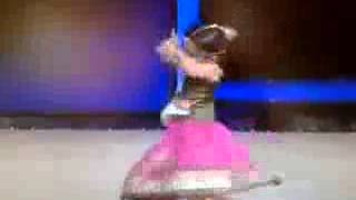 Cute 3 year old dancing in a Hindi competition