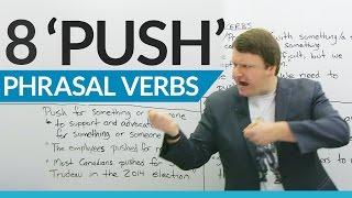 Learn 8 Phrasal Verbs with