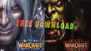 HOW TO DOWNLOAD WARCRAFT 3 WITH FROZEN THRONE 2016-2017