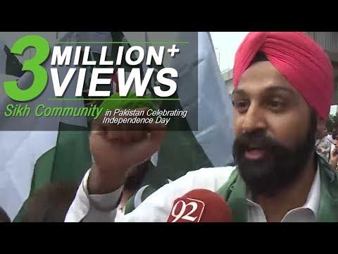 Xxx Mp4 Sikh Community In Pakistan Celebrating Independence Day 14 August 2017 92NewsHDPlus 3gp Sex