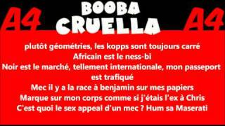 SikFuturTv | Booba - Cruella ft. Shay (Paroles) + Téléchargement