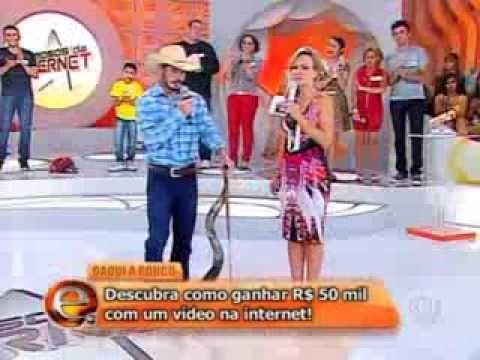 Serjão berranteiro Eliana 25 08 13 Famosos da Internet Serjão é bravo