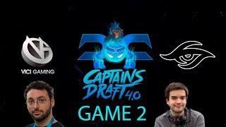 Captains Draft 4.0 - Vici Gaming vs. Secret Game 2