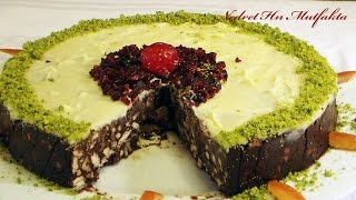 Bisküvili Kolay Pasta Tarifi  /  Mozaik Pasta