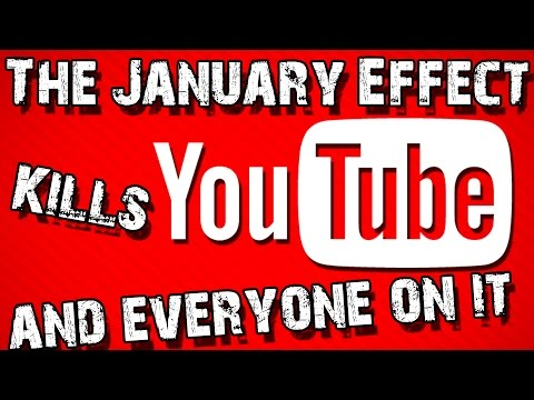 Why January is the WORST month for YouTubers Lockstin