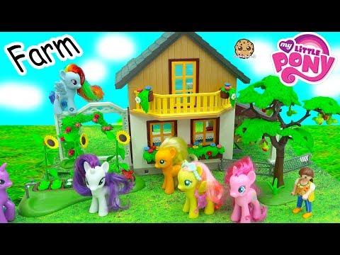 Xxx Mp4 My Little Pony Visit Help Destroyed Playmobil Farm MLP Toy Play Video 3gp Sex