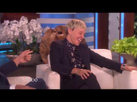 Ellen DeGeneres s laugh compilation Part 2