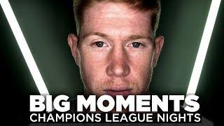 BIG MOMENTS | Sergio Aguero & Kevin De Bruyne | Champions League Nights