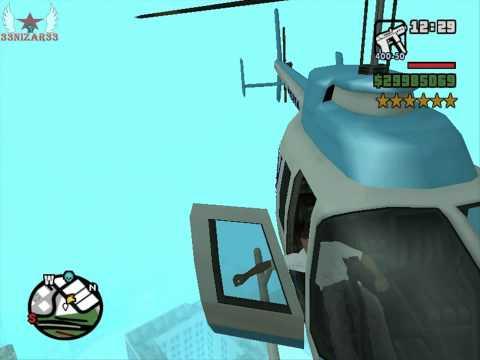GTA San Andreas Robando Un Helicoptero