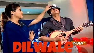Dilwale: Shah Rukh Khan and Kajol Exclusive Interview
