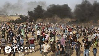 12,000 Palestinians riot along Gaza-Israel border - This week in 60s 15.6.18