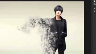 PhotoshopTutorial Dispersion smoke effect tutorial by One Shoot Production TV