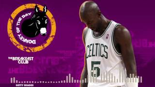 Kevin Garnett Falls Flat On Grammar During His Web Show - Donkey of the Day