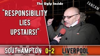 Responsibility lies upstairs! | Southampton 0-2 Liverpool | The Ugly Inside