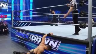 Roman Reigns vs. The Miz - Champion vs. Champion Match: SmackDown, April 28, 2016