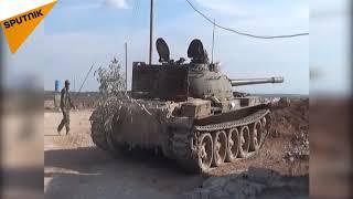 پیشگامی ارتش سوریه تا فرودگاه ابو الظهور در استان ادلب