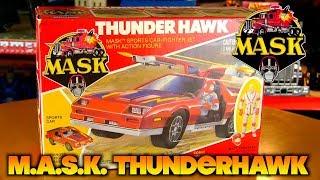 Kenner M.A.S.K. Thunderhawk Camaro IROC Z28 with Matt Trakker (1985)