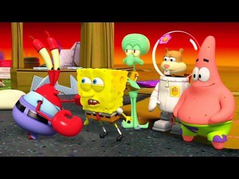 SpongeBob SquarePants Plankton s Robotic Revenge O Início Bob Esponja Calça Quadrada gameplay