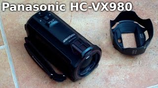 Panasonic HC-VX980 Camcorder Review - Is 4k Worth it? 4K for Youtube?