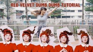 Red Velvet 레드벨벳 Dumb Dumb Dance tutorial (FULL mirrored)