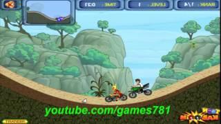 ألعاب دراجات أطفال | العاب تفحيط |  فيديو بن تن