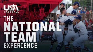 USA Baseball—The National Team Experience
