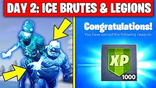 ICE STORM CHALLENGES FREE REWARDS! - DESTROY ICE BRUTES, ELIMINATE ICE LEGIONS WITH PISTOLS & AR