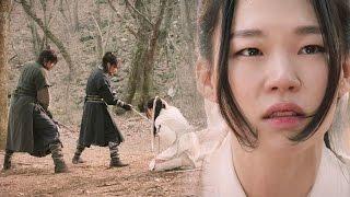 Han Ye Ri meets her end by Yoon Kyun Sang & Byun Yo Han 《Six Flying Dragons》 육룡이 나르샤 EP50