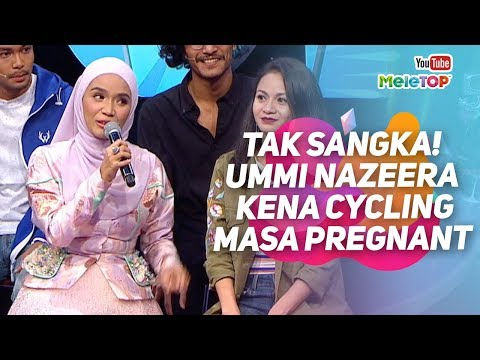 TAK SANGKA! Ummi Nazeera pregnant, tapi...kena cycle atas highway  | MeleTOP | Nabil & Neelofa