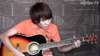 Let Me Be The One - Jimmy Bondoc (fingerstyle guitar cover)