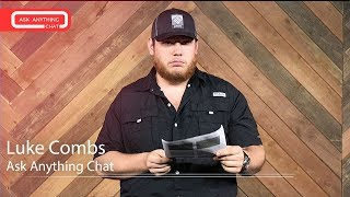 Luke Combs Talks About Not Having A Tattoo, His Rap Name & His Voice Warm Ups. Final Part