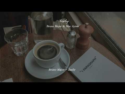 작은 카페에서 Bruno Major와 Mac Ayres를 주문했다 l Bruno Major X Mac Ayres Playlist
