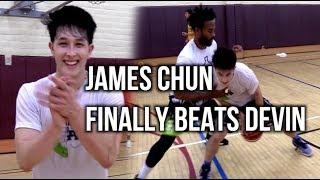 James Chun FINALLY BEATS Devin Williams & Friends At 1 On 1!!