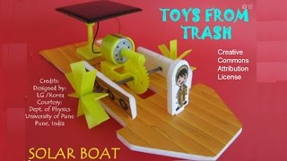Solar Boat | Bengali | Fun with Solar Energy