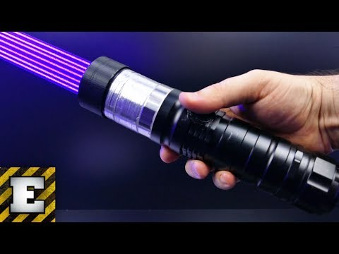 LOOK WHAT WORLD MOST POWERFUL LASER IS ABLE TO DO