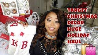 Huge Target Christmas Decor Haul!