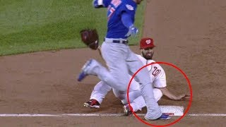 MLB Runners Missing the Base (HD)