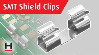 RFI Shield Clips From Harwin's EMC Shielding Range