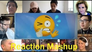 THE EMOJI MOVIE   Official Trailer REACTION MASHUP
