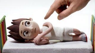 Stop Motion Ryder Sleeping Superhero Videos For Children