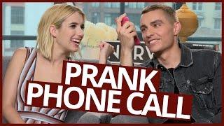 Dave Franco and Emma Roberts PRANK CALL DARE!
